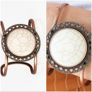 RODEO RAGE COPPER CUFF BRACELET